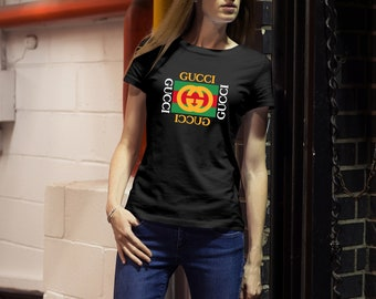 cc64c0132d3 New Gucci Womens T-shirt Style By Gucci Cotton Tee Tshirt Gifts