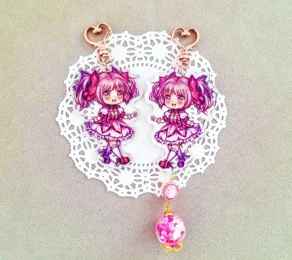 Puella Magi Madoka Magica Kaname Madoka Acrylic Keychain