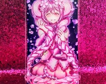 Vocaloid - Sakura Hatsune Miku Anime Acrylic Cell Phone Holder Stand