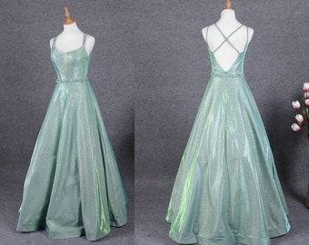 2019 Prom dress Sexy A-line Prom dress V neck Prom dress long prom dress fd89e21de