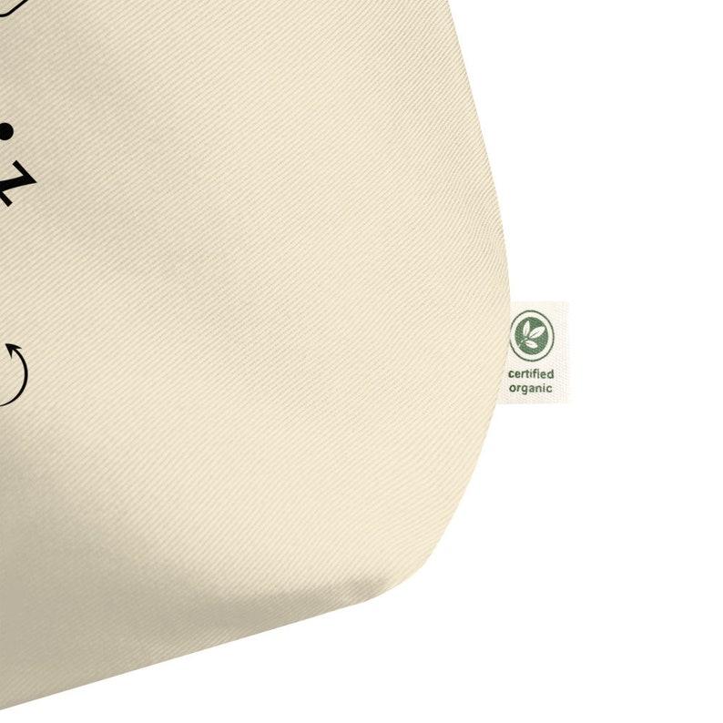 Eco Tote Bag Milk Snuggle Nap Repeat