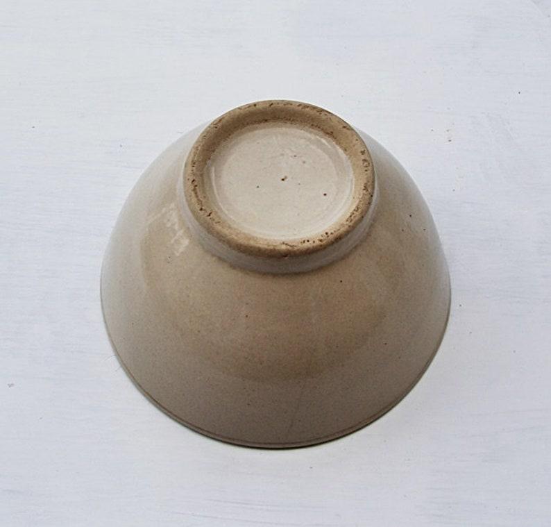frensch bowl vintage bowl CAFE AU LAIT cereal bowl