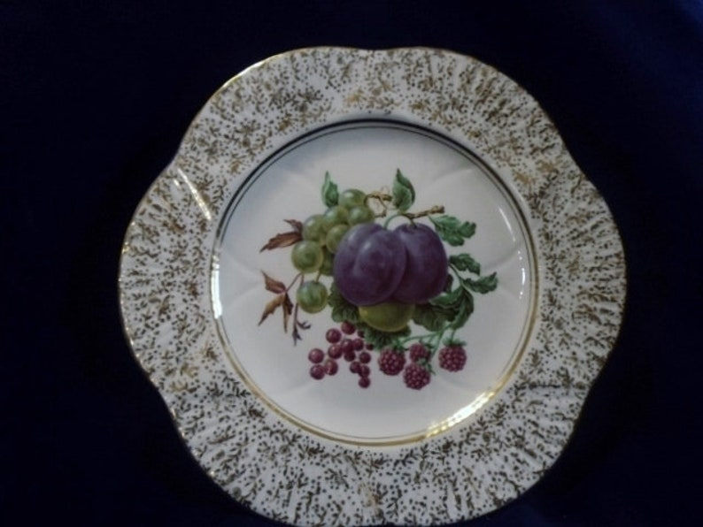 Vintage Shelley FREE SHIPPING Never Used Fruit Motif