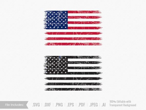 Flag Svg Us Flag Svg Clipart Usa Flag American Flag Dxf Usa Etsy