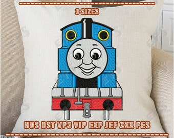 Thomas The Train Embroidery Design Etsy