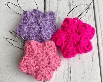 Star Crochet Earrings