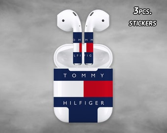 41823263 Inspired by Tommy Hilfiger AirPod Skin Tommy Hilfiger AirPod case Tommy  Hilfiger Apple AirPod Stickers Apple Decal Tommy Hilfiger AirPod