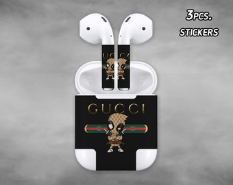 1b6bf16000 Inspired by Gucci AirPod decal Gucci Stickers AirPod Apple Gucci skin  Deadpool decal Gucci Deadpool skin Deadpool AirPod Stickers
