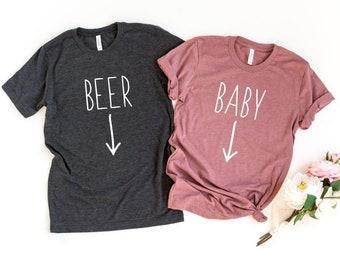 Bébé à Bord De Maternité T-Shirt Taille Taille 10-18