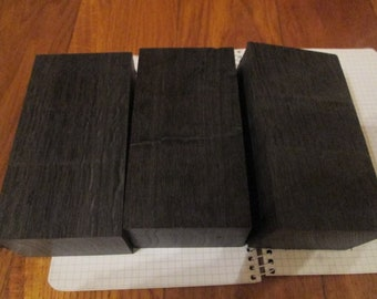 set of 5pcs Bog oak blanks for pen morta,wood from 1000-6000year 20x20x135