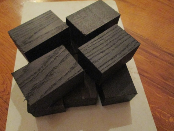 bog oak morta, wood blanks for pipes from 1270 to 5460 years