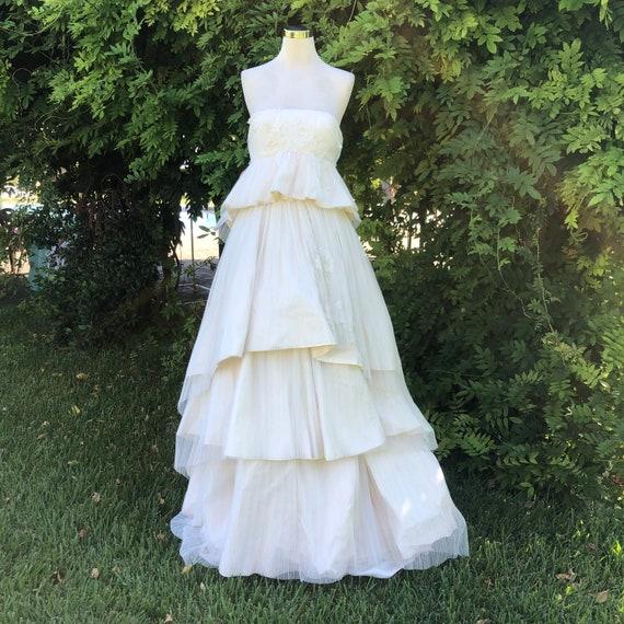 Christian Lacroix Wedding dress, pleated Wedding d