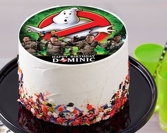 Excellent Ghostbusters Cake Etsy Funny Birthday Cards Online Alyptdamsfinfo