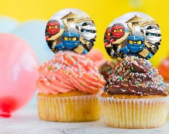 Ninjago cake topper | Etsy