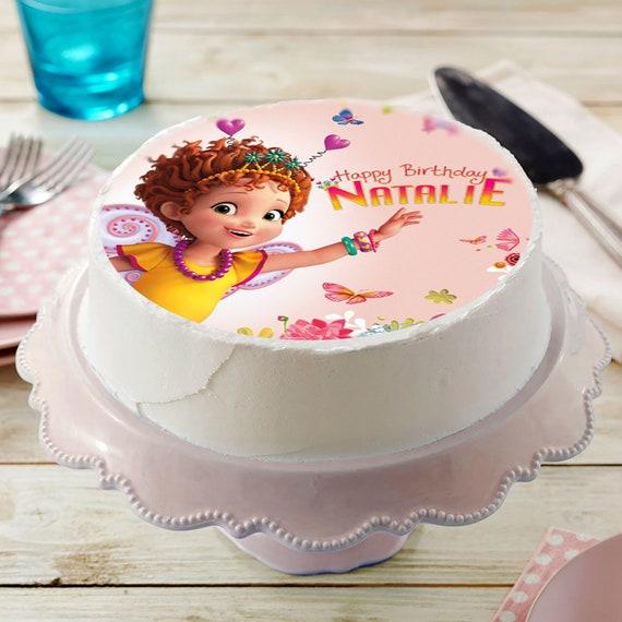 Fantastic Fancy Nancy Image Edible Cake Topper Birthday Cake Topper Etsy Funny Birthday Cards Online Overcheapnameinfo