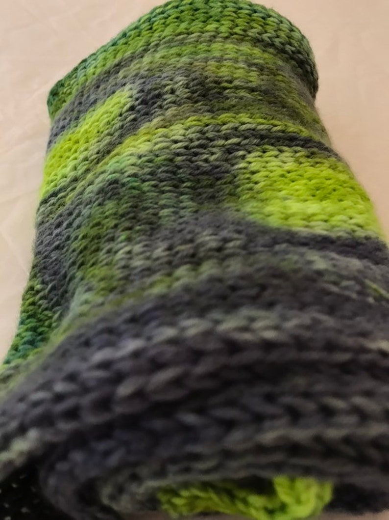 Merino and Cashmere blend double knit sock blank
