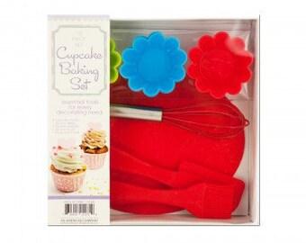 Cupcake bakery gift set