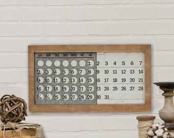 Slide calendar