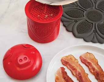 Bacon Bin, grease container