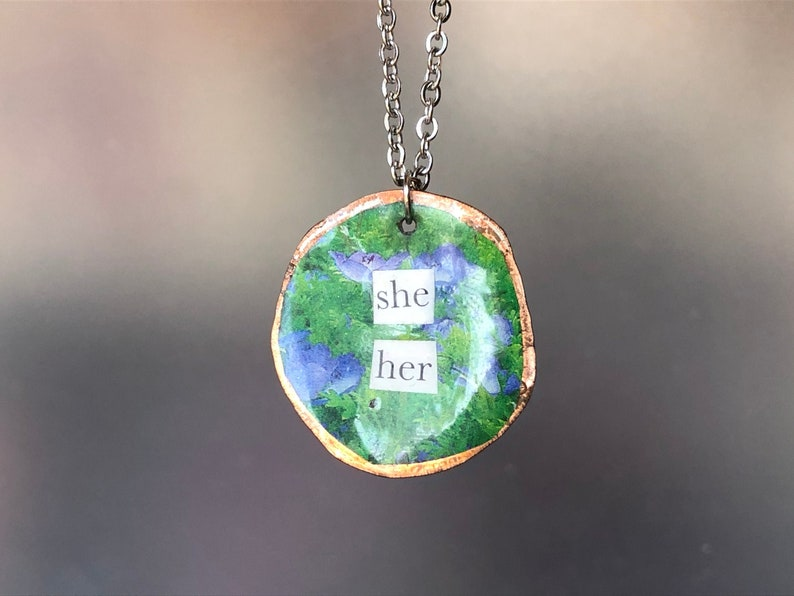 She Her necklace