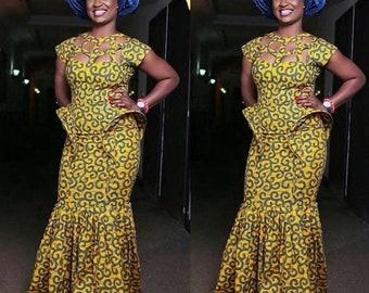 Nigerian Dress Etsy