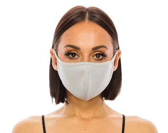 Triple Layer Mesh Face Mask for Men Women | Breathable Mask Cover | Washable Quick Dry Made In USA