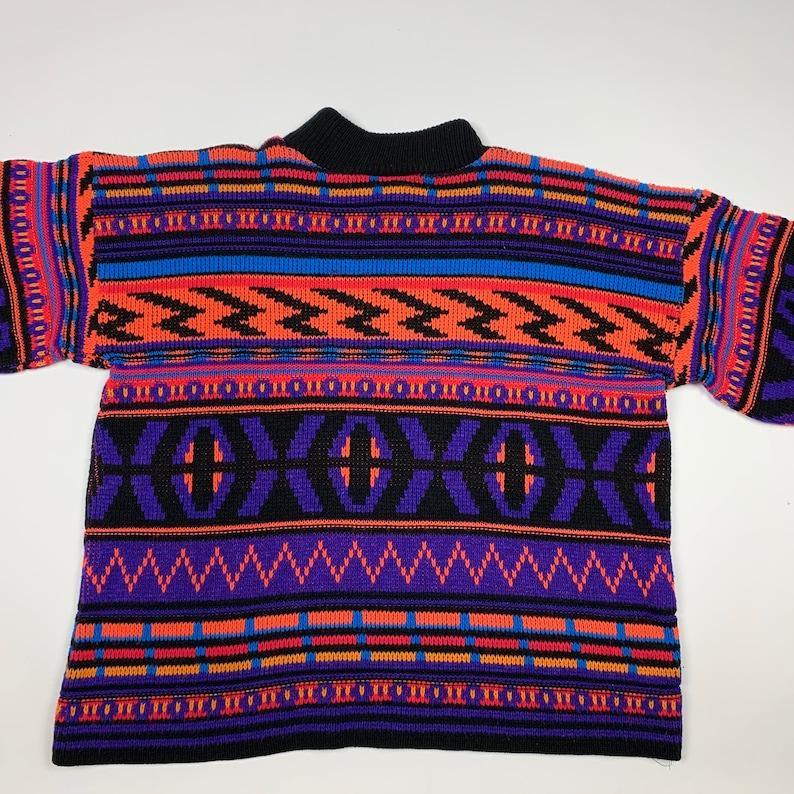 Vintage 80,90s Retro Aztec Western Sweater