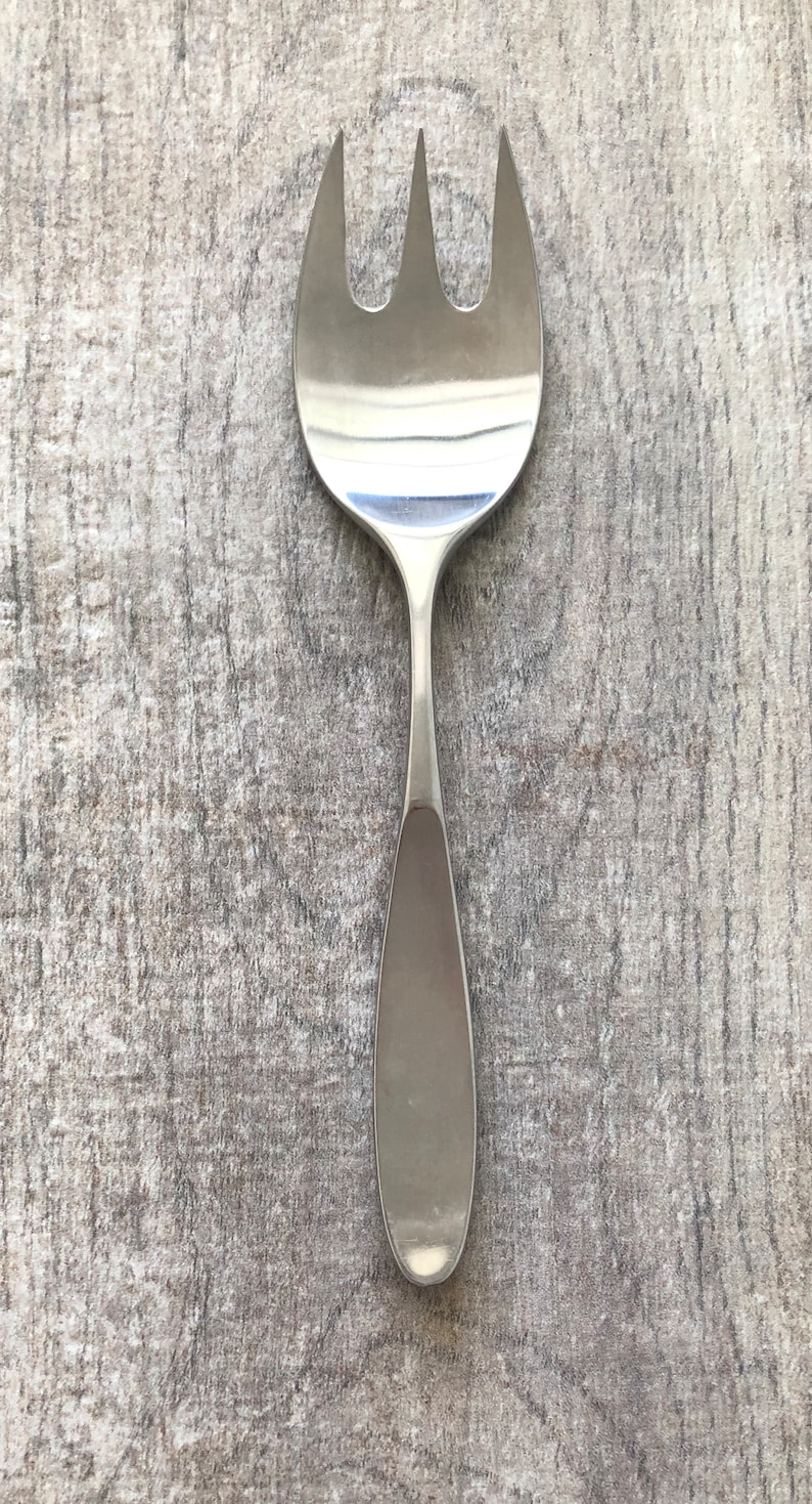 LAUFFER  Magnum Pattern  Modernism  Stainless 18/8 Serving/Cold Meat Fork   Japan