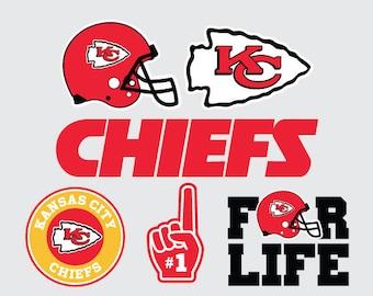 Kansas City Chiefs Svg Etsy