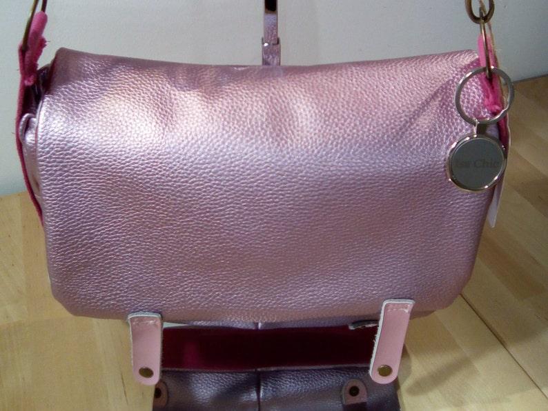Pink iridescent bag image 0