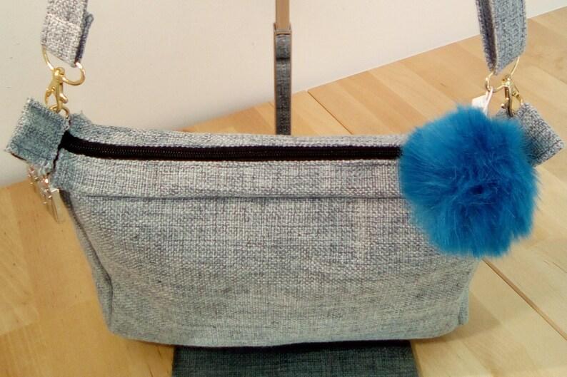 Cotton shoulder bag image 0