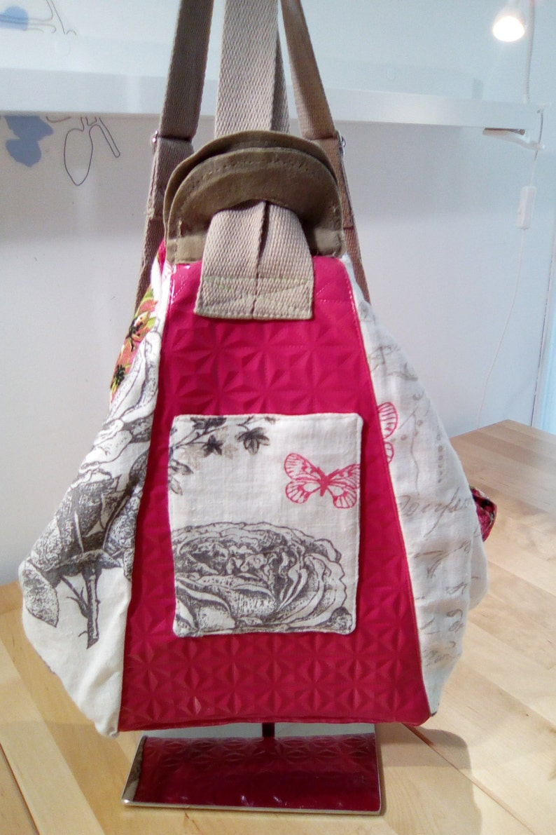 Backpack made of linen image 0