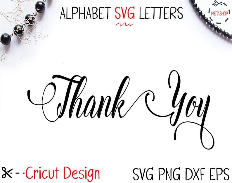 Download Svg Fonts Cursive Font Cricut Font alphabet font | Etsy