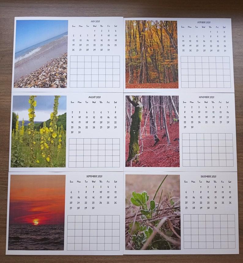 Calendar 2021 PDF Monthly Planner Vertical Photo:   Etsy