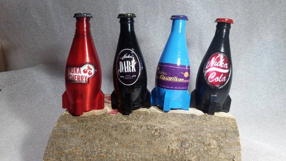 Nuka Cola Bottle Nuka Cherry Nuka Dark Nuka Quantum Etsy