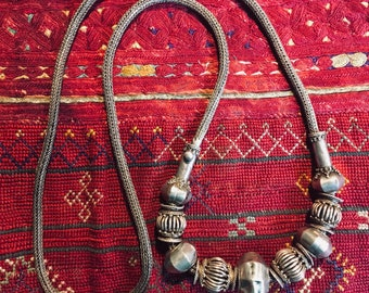 Gorgeous antique Sri Lanka/Ceylon Necklace High grade silver Ethnic rare