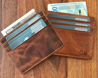62042a05ab4ed Credit Card Holder Leather