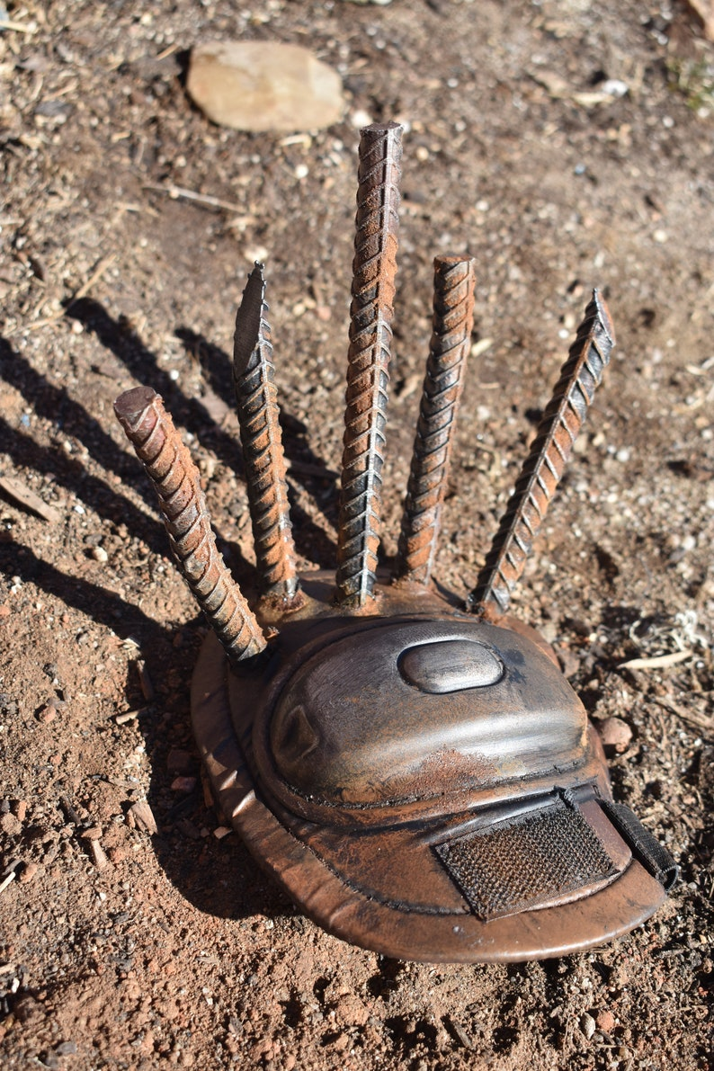SALE Wasteland Costuming Supplies Salvage 3DPrint Rebar Re Bar Spike Post  Apocalyptic Raider Armor Fallout Mad Max Cosplay Spikes Waste Land