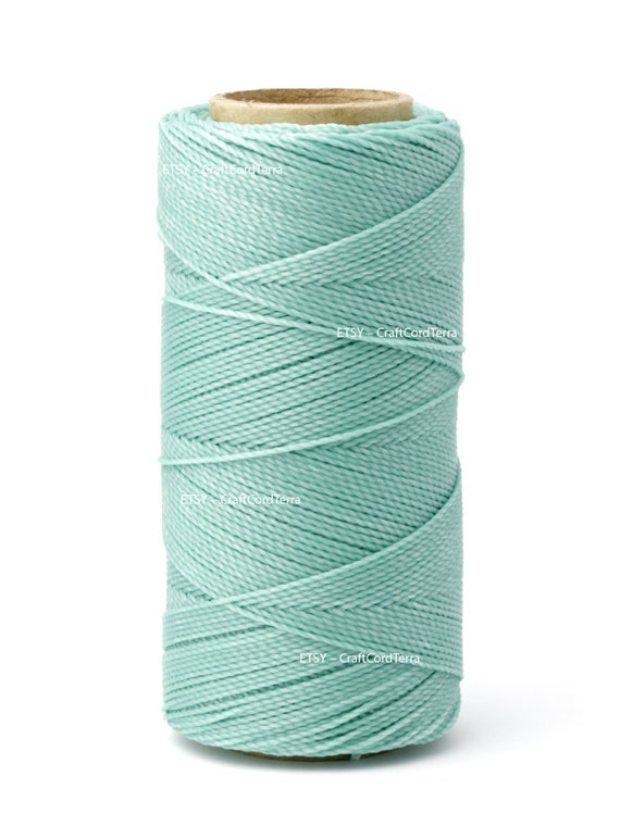 Beading Thread Twisted Leather Sewing Bracelet Wax Cord 188yd Linhasita 1mm Waxed Polyester Cord Macrame Knotting String Waxed Thread