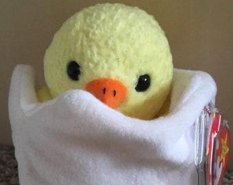 TY Beanie Babies  Eggbert  Hatching Chick 073dd6b1e1f6