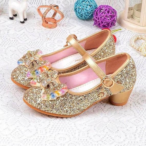 Bling Gold Glitter Girls Princess