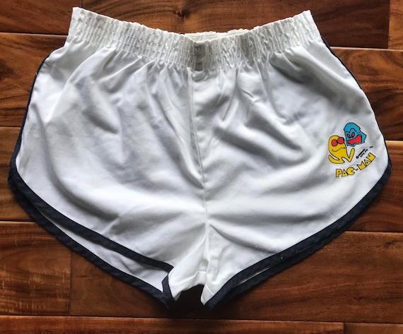 80s PAC-Man running shorts