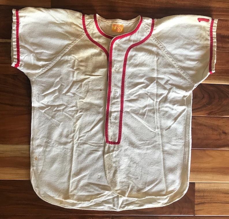 1950s Wilson Baseball Jersey