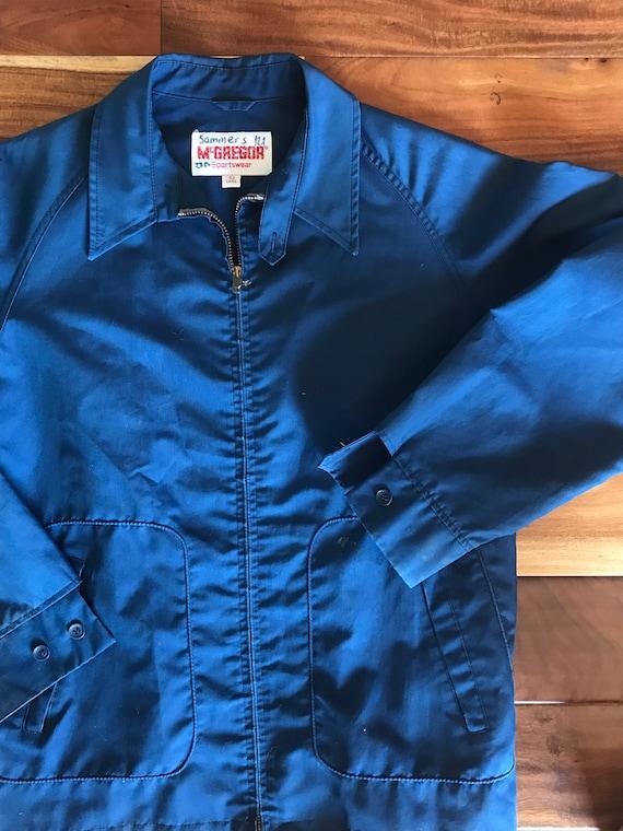 60s McGregor Windbreaker Jacket