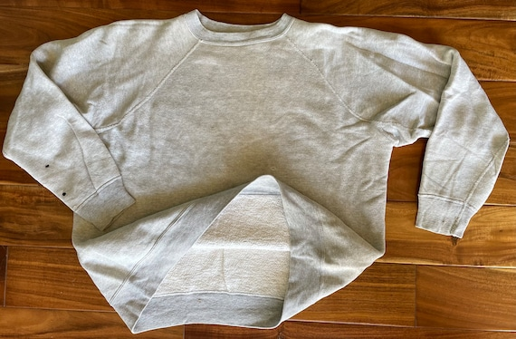 Gusset Crew Neck Sweatshirt, missing tag, likely H