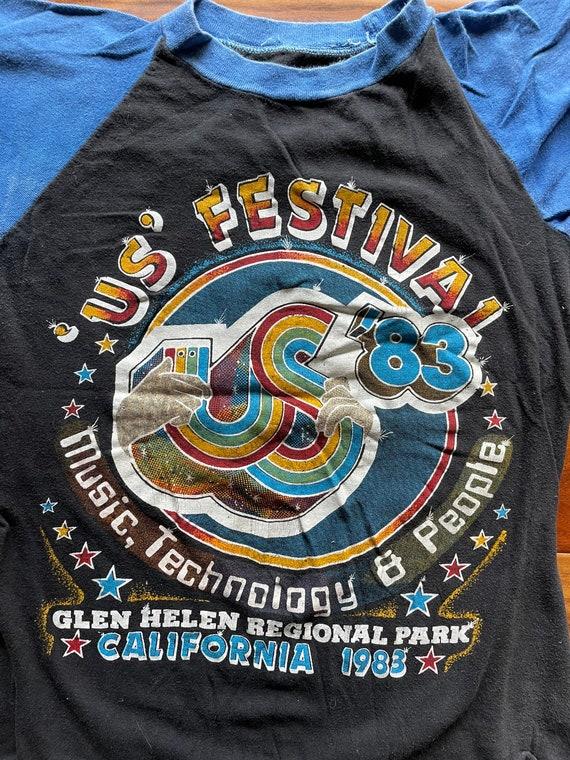 US Festival 1983 Raglan Tee