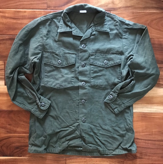 Sateen OG 107 Military Shirt