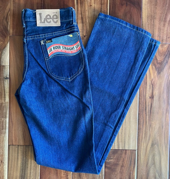 Deadstock Lee Riders Denim