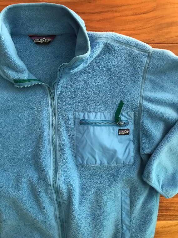 90s Patagonia Pile Fleece Jacket, made in the USA