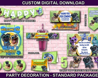Puppy Dog Pals Party Etsy